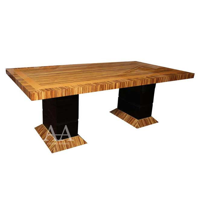 Neapolitan Dining or Meeting Table by Arlene Angard