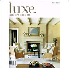 Luxe Interior + Design and Arlene Angard Designs & Fine Art, Fall 2012