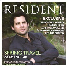 Resident Magazine and Arlene Angard Designs & Fine Art, Spring 2010