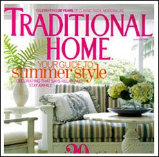 Traditional Home Magazine and Arlene Angard Designs & Fine Art, Summer 2009