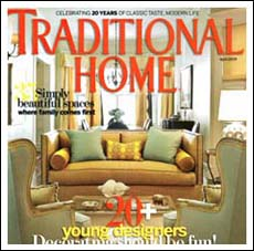 Traditional Home Magazine Mindful Escape and Arlene Angard Designs & Fine Art, Spring 2009