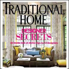 Traditional Home Magazine and Arlene Angard Designs & Fine Art, Fall 2008