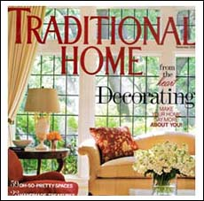 Traditional Home Magazine Showhouse   and Arlene Angard Designs & Fine Art, Fall 2008