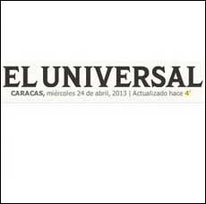 El Universal and Arlene Angard Designs & Fine Art, Spring 2014