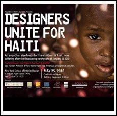 Designers Unite for Haiti