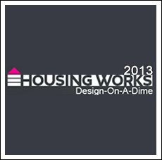 AAD for Housing Works, Design on a Dime 2013