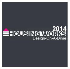 AAD for Housing Works, Design on a Dime 2014