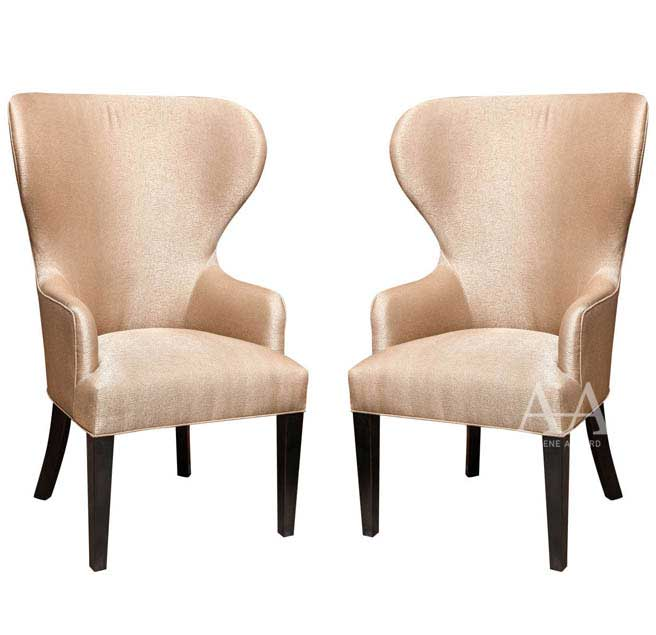 Catherine Wingback Chair by Arlene Angard