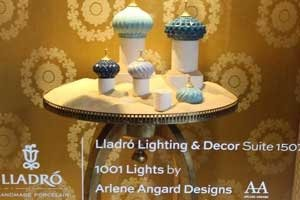 AAD Designed an Arabian Lights, LLADRÓ at D & D Building