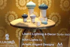 AAD at Designed an Arabian Lights, LLADRÓ at D & D Building