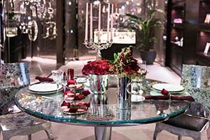 AAD at Christofle Madison, Sweetheart table