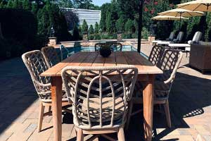 AAD Pool Landscaping at Roslyn Country Club
