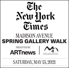 New York Times and Madison Gallery Walk Featuring Arlene Angard Designs & Fine Art